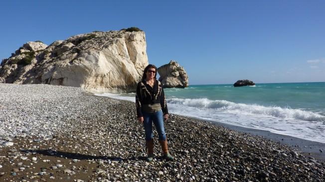 Visiting Aphrodite's Rock, Cyprus